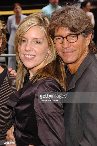 Andrea Parker and Eric Roberts during ABC 2004/2005 Primetime Upfront Arrivals at Cipriani's in New York City New York United States