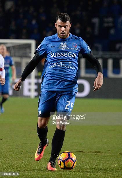Andrea Petagna of Atalanta BC in action during the Serie A match between Atalanta BC and Empoli FC at Stadio Atleti Azzurri d'Italia on December 20...