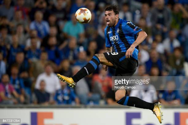 Andrea Petagna of Atalanta BC in action during the UEFA Europa League group E football match between Atalanta BC and Everton FC Atalanta BC wins 30...