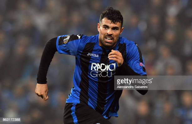 Andrea Petagna of Atalanta in action during the UEFA Europa League group E match between Atalanta and Apollon Limassol at Mapei Stadium Citta' del...