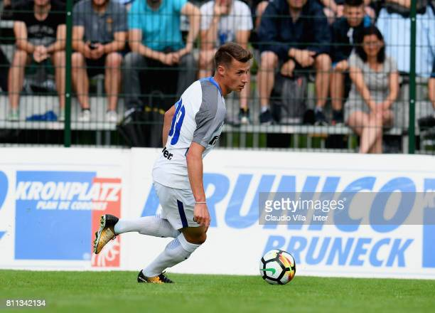 Andrea Pinamonti of FC Internazionale in action during the Preseason Friendly match between FC Internazionale and Wattens on July 9 2017 in Reischach...