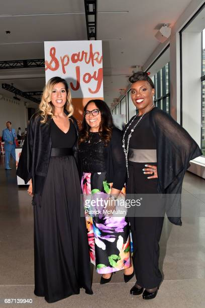 Andrea Pullen Monica Martinez and Kalimah Johnson attend the Joyful Revolution Gala hosted by Mariska Hargitay's Joyful Heart Foundation at Spring...