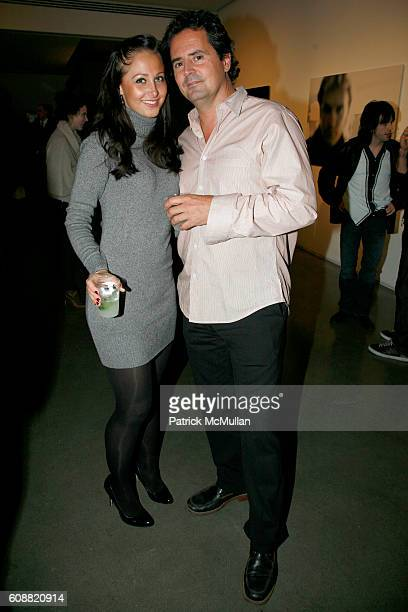 Andrea Rajacic and David Dougan attend A MILK Gallery Project and ZENITH Watches Presents ANDY SUMMERS 'I'll Be Watching You Inside The Police...