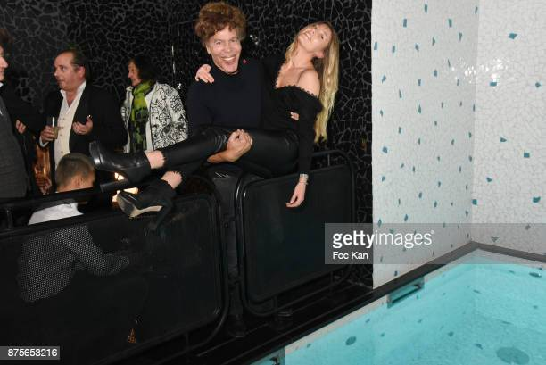 Andrea Ricciutelli and Igor Bogdanov attend 'Le Temps Retrouve' Party at Les Bains on November 17 2017 in Paris France