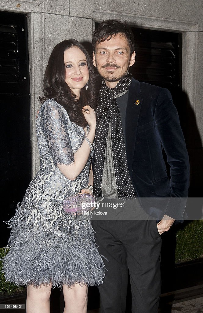 <a gi-track='captionPersonalityLinkClicked' href=/galleries/search?phrase=Andrea+Riseborough&family=editorial&specificpeople=4395380 ng-click='$event.stopPropagation()'>Andrea Riseborough</a> and Matthew Williams sighting on February 11, 2013 in London, England.