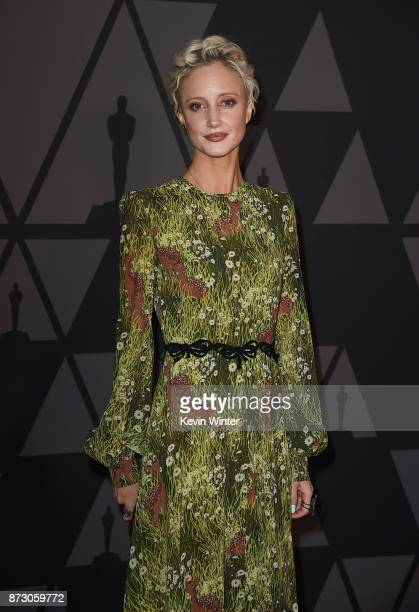 Andrea Riseborough attends the Academy of Motion Picture Arts and Sciences' 9th Annual Governors Awards at The Ray Dolby Ballroom at Hollywood...