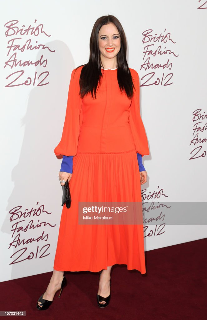 Andrea Riseborough attends the British Fashion Awards 2012 at The Savoy Hotel on November 27, 2012 in London, England.