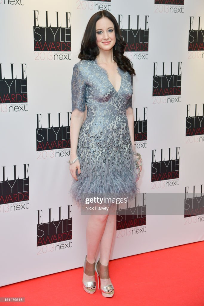 Andrea Riseborough attends the Elle Style Awards 2013 on February 11, 2013 in London, England.