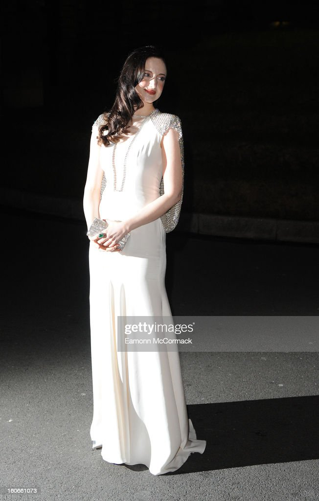 Andrea Riseborough attends the London Evening Standard British Film Awards at the London Film Museum on February 4, 2013 in London, England.