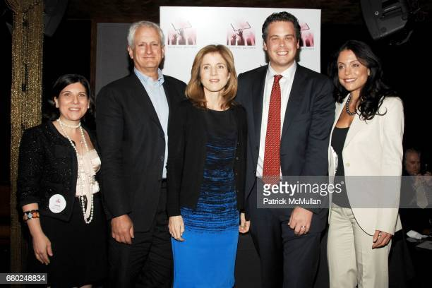 Andrea Rosen Edwin Schlossberg Caroline Kennedy Stefan Friedman and Bethenny Frankel attend LITERACY ASSOCIATES benefit for Literacy Partners at...