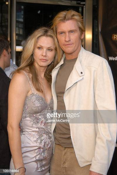 Andrea Roth and Denis Leary during FX's 'Rescue Me' New York Screening at Loews Lincoln Square Theaters in New York City New York United States