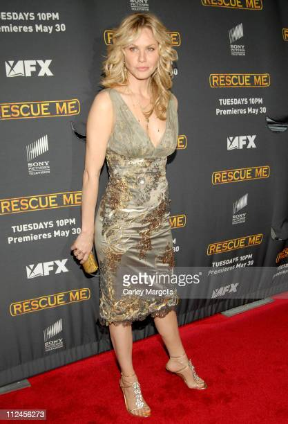 Andrea Roth during 'Rescue Me' Season Three New York Premiere at Ziegfeld Theater in New York City New York United States