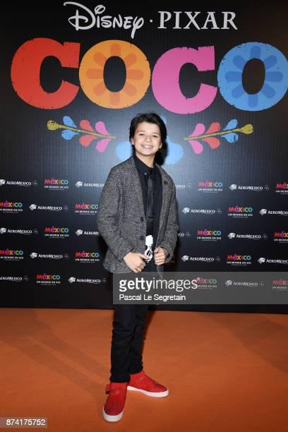 Andrea Santamaria attends the 'Coco' Paris Special Screening at Le Grand Rex on November 14 2017 in Paris France