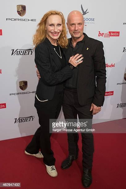 Andrea Sawatzki and Christian Berkel attend the Medienboard BerlinBrandenburg Reception at Ritz Carlton on February 7 2015 in Berlin Germany