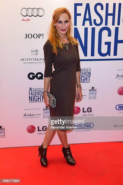 Andrea Sawatzki attends the Anson's Fashion Night on October 1 2014 in Hamburg Germany