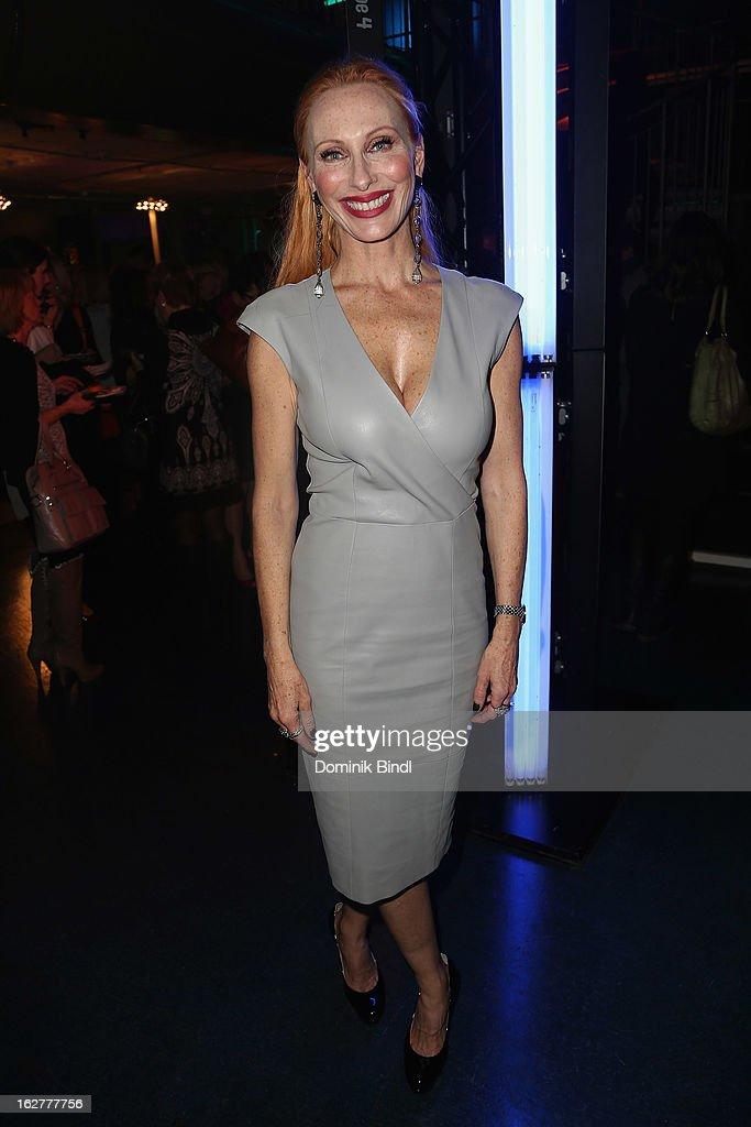 Andrea Sawatzki attends the BRIGITTE fashion event 2013 on February 26, 2013 in Munich, Germany.