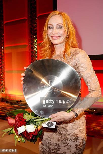 Andrea Sawatzki attends the Victress Awards Gala on April 4 2016 in Berlin Germany