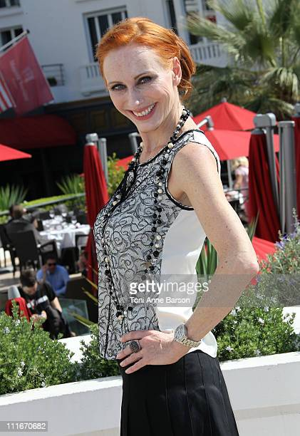 Andrea Sawatzkii attends the 'Borgia' photocall during MIPTV 2011 at Hotel Majestic on April 5 2011 in Cannes France
