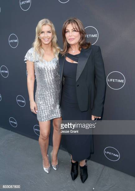 Andrea Schroder and Kelly LeBrock attend Lifetime's New Docuseries 'Growing Up Supermodel's' Exclusive LIVE Viewing Party Hosted By Andrea Schroder...