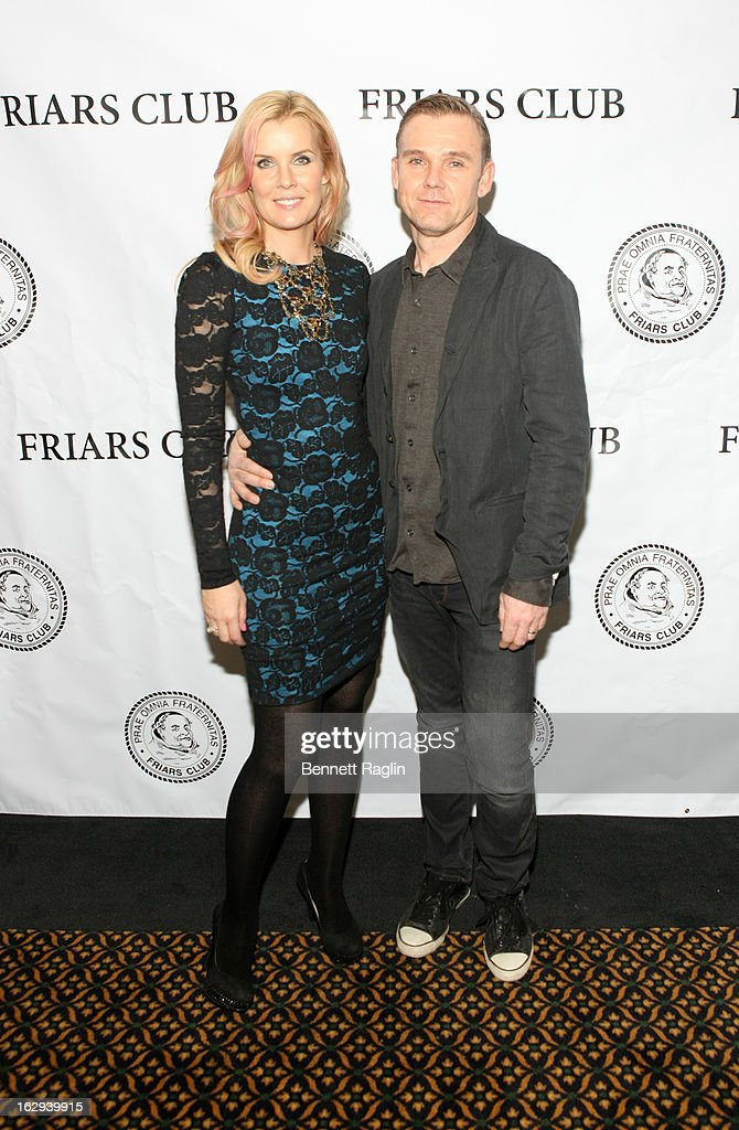 Andrea Schroder and Ricky Schroder attend So You Think You Can Roast? at the New York Friars Club on March 1, 2013 in New York City.