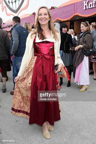 Andrea Sixt attends the 'Sixt Damen Wiesn' at Marstall tent during Oktoberfest at Theresienwiese on September 22 2014 in Munich Germany