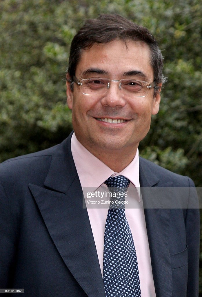 Andrea Vianello attends the RAI Autumn / Winter 2010 TV Schedule held at Castello Sforzesco on June 15, 2010 in Milan, Italy.