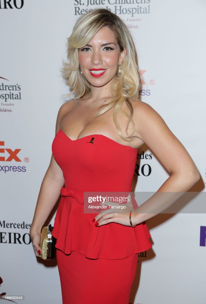 Andrea Vivas Hidalgo attends the 11th annual FedEx/St. Jude Angels & Stars Gala at JW Marriott Marquis on May 18, 2013 in Miami, Florida.