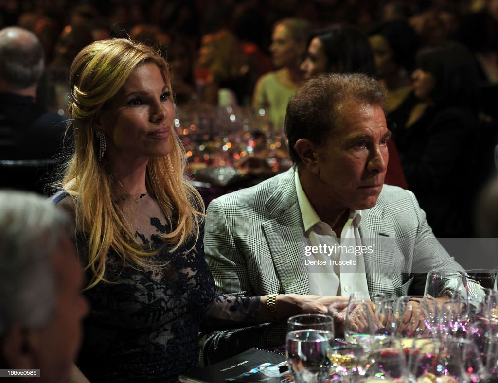 Andrea Wynn (L) and Wynn Resorts Chairman CEO <a gi-track='captionPersonalityLinkClicked' href=/galleries/search?phrase=Steve+Wynn&family=editorial&specificpeople=696427 ng-click='$event.stopPropagation()'>Steve Wynn</a> attend the 17th annual Keep Memory Alive 'Power of Love Gala' benefit for the Cleveland Clinic Lou Ruvo Center for Brain Health celebrating the 80th birthdays of Quincy Jones and Sir Michael Caine on April 13, 2013 in Las Vegas, Nevada.