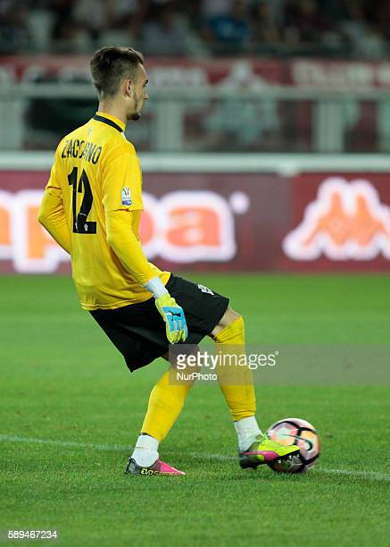 Andrea Zaccagno during Tim Cup 20162017 match between Torino FC and FC Pro Vercelli at the Olympic Stadium of Turin on august 013 2016 in Torino italy