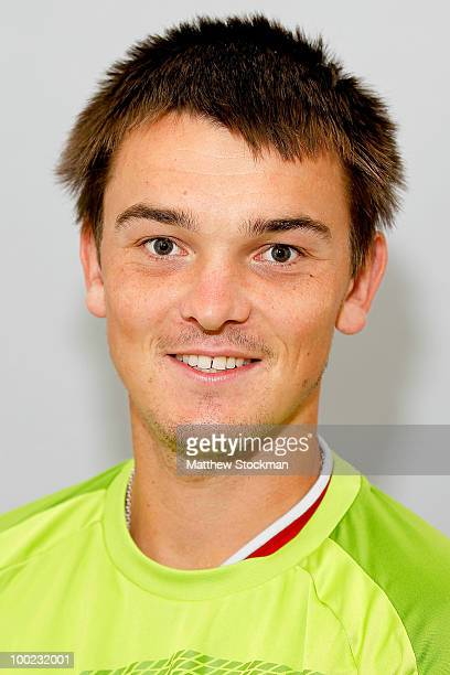 Andreas Beck poses for a headshot at Roland Garros on May 22 2010 in Paris France