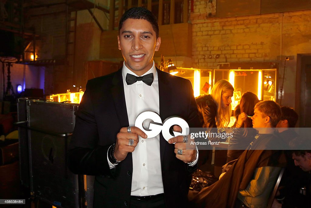 GQ Men Of The Year Award 2014 - Backstage