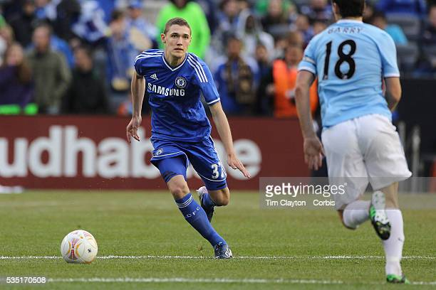 Andreas Christensen Chelsea in action during the Manchester City V Chelsea friendly exhibition match at Yankee Stadium The Bronx New York Manchester...
