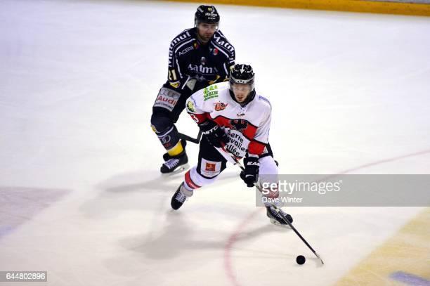 Andreas FRISK / Danny GROUX Hockey sur glace Rouen / Briancon 1/2Finale Coupe de France Photo Dave Winter / Icon Sport