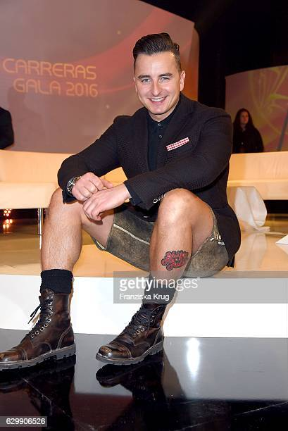 Andreas Gabalier attends the 22th Annual Jose Carreras Gala on December 14 2016 in Berlin Germany