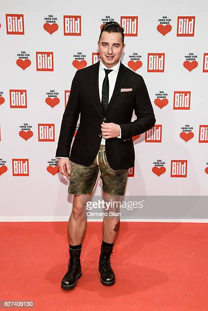 Andreas Gabalier attends the Ein Herz Fuer Kinder Gala 2016 on December 3 2016 in Berlin Germany