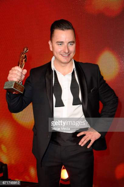 Andreas Gabalier during the ROMY award at Hofburg Vienna on April 22 2017 in Vienna Austria