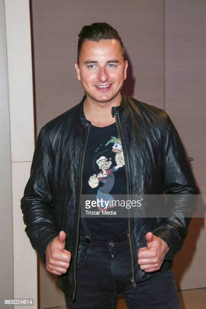 Andreas Gabalier during the 'Schlagerboom Das Internationale Schlagerfest' at Westfalenhalle on October 21 2017 in Dortmund Germany