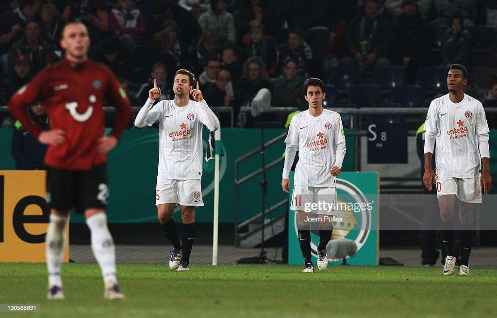 Hannover 96 v FSV Mainz 05 - DFB Cup