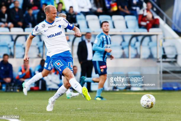 Andreas Johansson during the Allsvenskan match between IFK Norrkoping and Djurgardens IF on August 13 2017 in Norrkoping Sweden