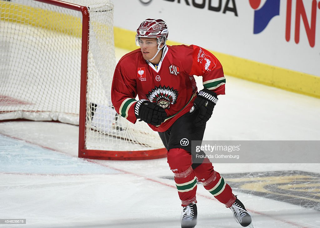 Andreas Johnson: Frolunda Gothenburg V Geneve-Servette