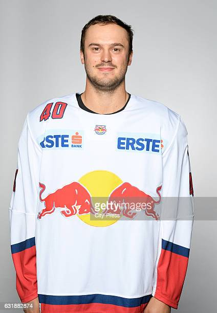 Andreas Kristler of EC Red Bull Salzburg during the portrait shot September 16 2016 in Salzburg Austria