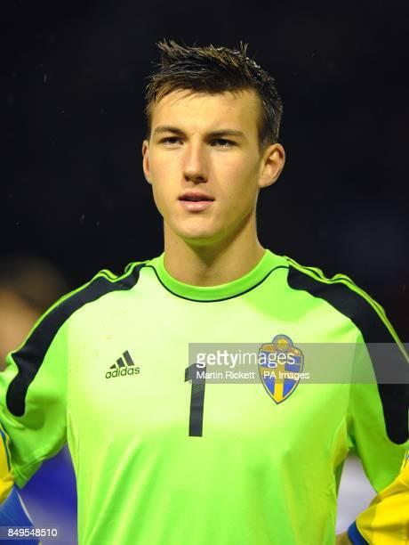 Andreas Linde Sweden goalkeeper