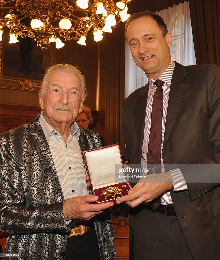 James Last Awarded Badge Of Honour By City Of Vienna