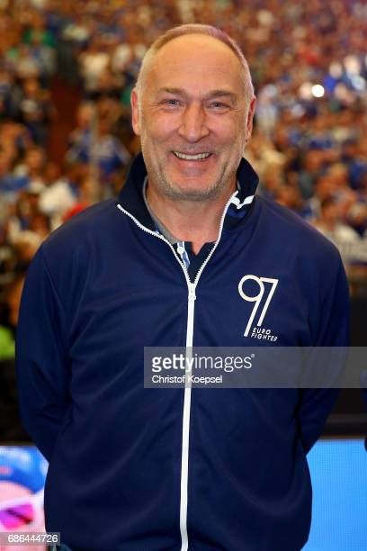 Andreas Mueller is seen prior to the 20 years of Eurofighter match between Eurofighter and Friends and Euro All Stars at Veltins Arena on May 21 2017...