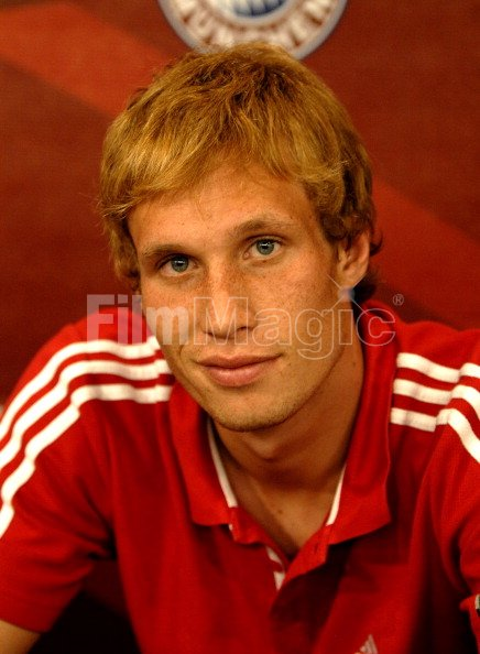 big sale 3d636 a65f4 Andreas Ottl during FC Bayern Munich In Store Appearance In ...