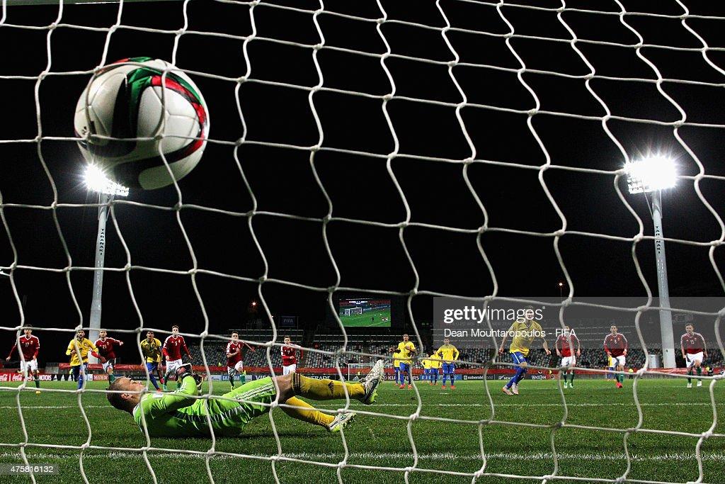 Hungary v Brazil: Group E - FIFA U-20 World Cup New Zealand 2015
