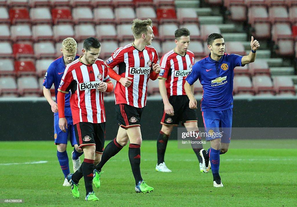Sunderland v Manchester United - U21 League : News Photo