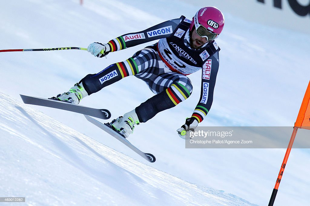 <a gi-track='captionPersonalityLinkClicked' href=/galleries/search?phrase=Andreas+Romar&family=editorial&specificpeople=6734606 ng-click='$event.stopPropagation()'>Andreas Romar</a> of Finland competes during the FIS Alpine World Ski Championships Men's Super Combined on February 08, 2015 in Vail/Beaver Creek, USA.