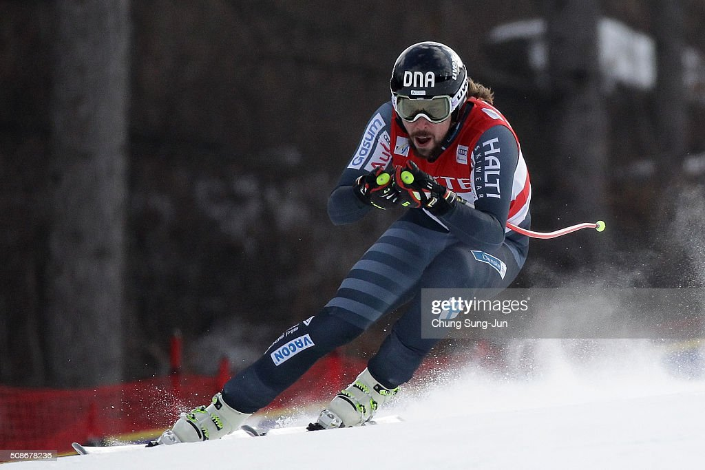 <a gi-track='captionPersonalityLinkClicked' href=/galleries/search?phrase=Andreas+Romar&family=editorial&specificpeople=6734606 ng-click='$event.stopPropagation()'>Andreas Romar</a> of Finland competes in the Men's Downhill Finals during the 2016 Audi FIS Ski World Cup at the Jeongseon Alpine Centre on February 6, 2016 in Jeongseon-gun, South Korea.