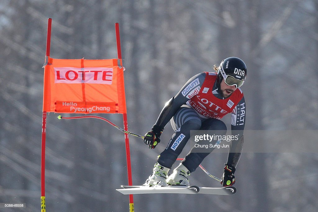 <a gi-track='captionPersonalityLinkClicked' href=/galleries/search?phrase=Andreas+Romar&family=editorial&specificpeople=6734606 ng-click='$event.stopPropagation()'>Andreas Romar</a> of Finland competes in the Men's Super G Finals during the 2016 Audi FIS Ski World Cup at the Jeongseon Alpine Centre on February 7, 2016 in Jeongseon-gun, South Korea.